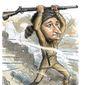 Illustration on Ted Cruz' indomitable spirit by Alexander Hunter/The Washington Times