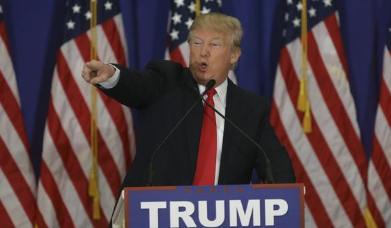 By the time California and three other states count their votes from the last four primaries June 7, Donald Trump will be 74 or so delegates short of the 1,237 majority needed for the nomination, the analysis shows. (Associated Press)