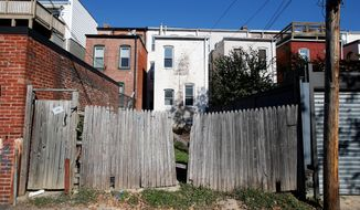 Of the 11 largest U.S. metropolitan areas, the District was the least affordable to the typical renter household in 2014, according to a report released Wednesday by New York University's Furman Center for Real Estate and Urban Policy. (Associated Press)