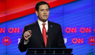 """""""Nothing will change for the Cuban people,"""" Sen. Marco Rubio said. """"Things are worse than they were before this opening. We're getting nothing in return."""" (Associated Press)"""