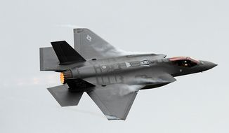 Lockheed Martin F-35 Lightning II. (U.S. Air Force photo/Alex R. Lloyd) ** FILE **