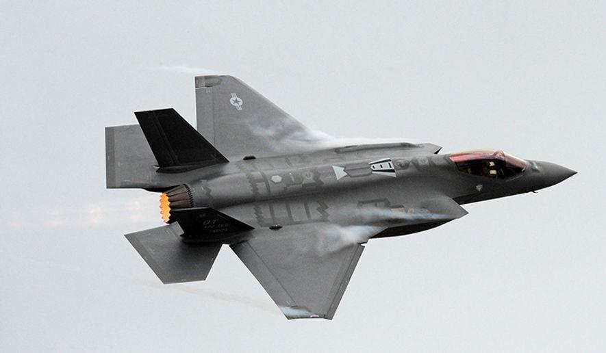 Lockheed Martin F-35 Lightning II. (U.S. Air Force photo/Alex R. Lloyd) ** FILE **