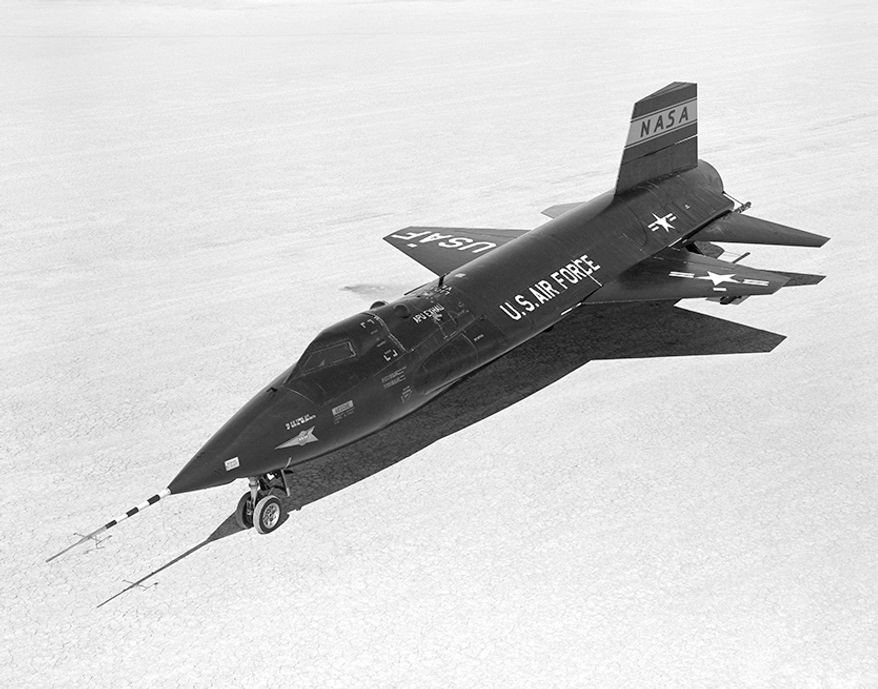 North American X-15                                           Top Speed: 4,520 MPH                         A hypersonic rocket-powered aircraft operated by the United States Air Force and the National Aeronautics and Space Administration as part of the X-plane series of experimental aircraft. The X-15 set speed and altitude records in the 1960s, reaching the edge of outer space and returning with valuable data used in aircraft and spacecraft design. As of September 2015, the X-15 holds the official world record for the highest speed ever recorded by a manned, powered aircraft. It could reach a top speed of 4,520 miles per hour (7,274km/h), or Mach 6.72. During the X-15 program, 13 flights by eight pilots met the Air Force spaceflight criterion by exceeding the altitude of 50 miles (80km), thus qualifying these pilots as being astronauts. The Air Force pilots qualified for astronaut wings immediately, while the civilian pilots were eventually awarded NASA astronaut wings in 2005, 35 years after the last X-15 flight. The only Navy pilot in the X-15 program never took the aircraft above the requisite 50 mile altitude and so as a result, never earned himself astronaut wings.
