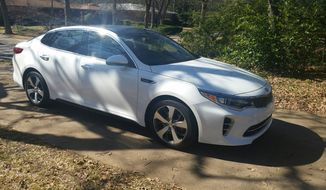 The Kia Optima this year has been completely redesigned so whatever ideas you might have, put them away and take note of this new game in town. (Photo by Rita Cook)
