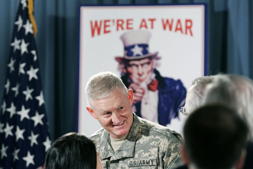 """Retired Lt. Gen. Clyde A. Vaughn, the Guard Recruiting Assistance Program founder who enthusiastically pushed the plan when he served as director of the Army National Guard, denies wrongdoing and calls the scandal """"overblown."""" He received a letter of reprimand for failing to """"conserve government resources."""" (Associated Press)"""