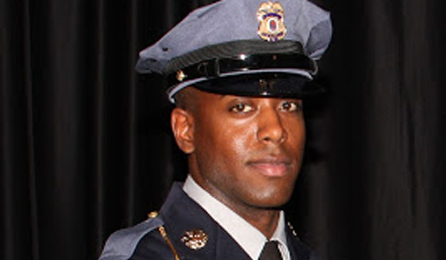 Officer First Class Jacai Colson (Prince George's County Police Department)