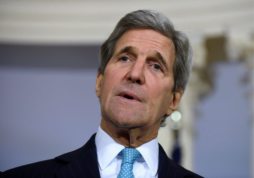 "The House of Representatives approved 393-0 a resolution declaring as ""genocide"" atrocities committed by the Islamic State against Christians, sending a strong signal to Secretary of State John F. Kerry, who has been deliberating for months. (Associated Press)"