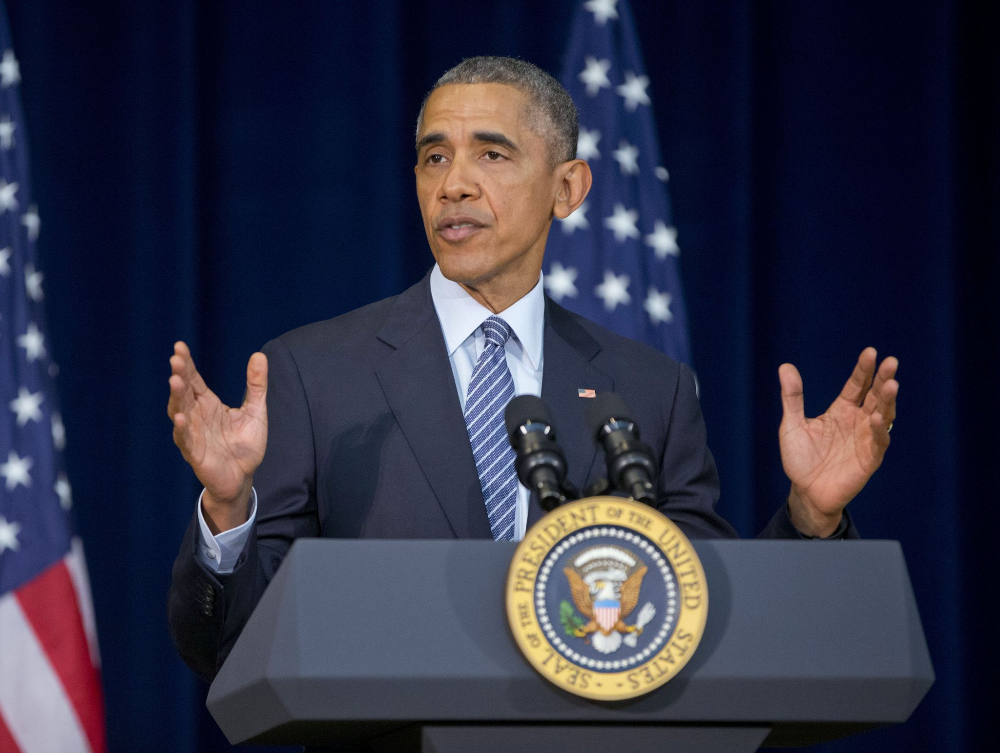 Obama praises his diplomacy with Iran and Cuba while angering ...