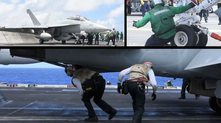 Check out what it's like to spend the day on the Navy's seventh Nimitz-class nuclear-powered supercarrier, the USS John C. Stennis.