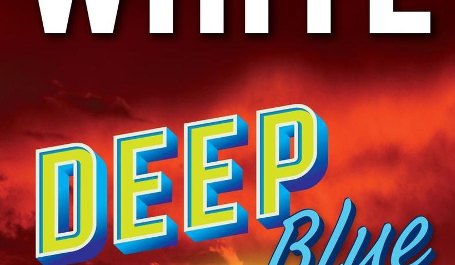 "This book cover image released by G.P. Putnam's Sons shows ""Deep Blue,"" a release by Randy Wayne White. (G.P. Putnam's Sons via AP)"