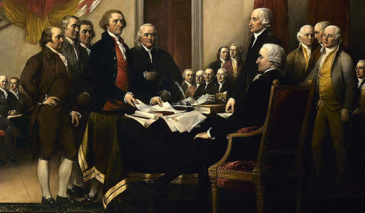 Founding Fathers rolling in graves at the COVID-19 constitutional crisis
