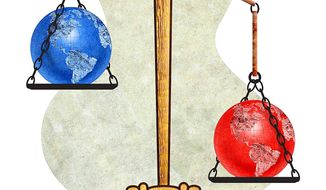 Prosecution of Climate Deniers Illustration by Greg Groesch/The Washington Times