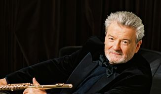 Sir James Galway.