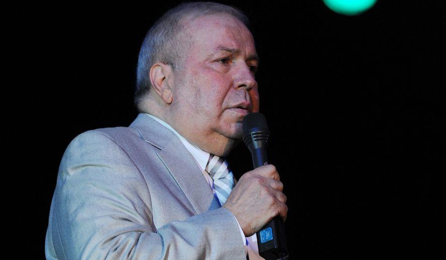 Frank Sinatra Jr. performs at the Seminole Coconut Creek Casino on July 12, 2012 in Coconut Creek, Florida. (Associated Press)