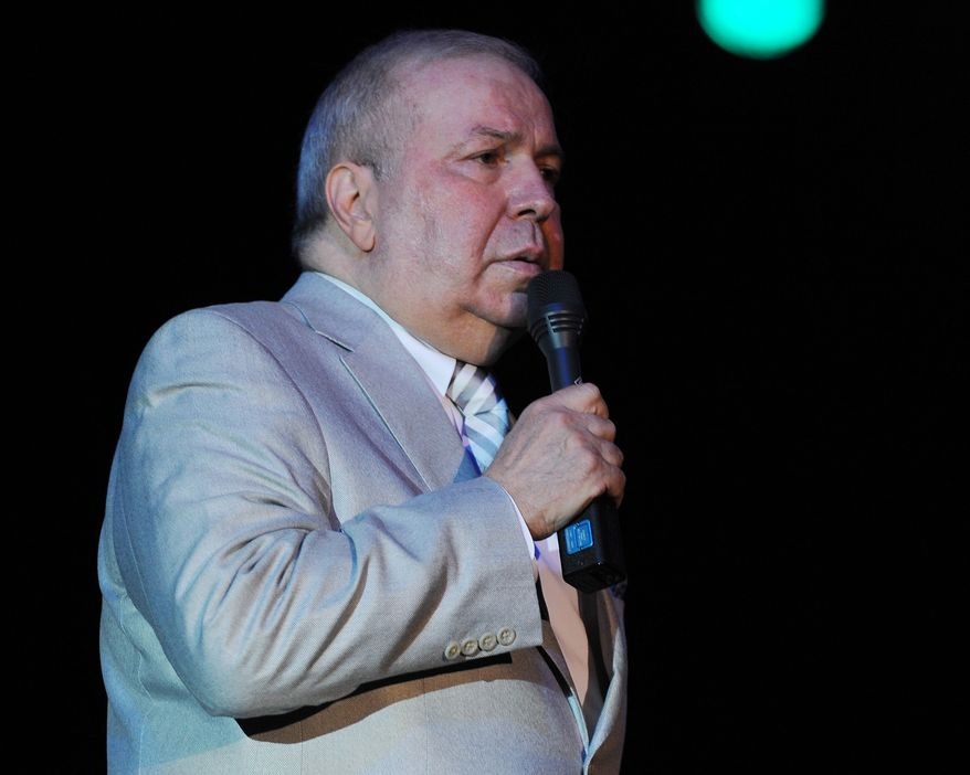 Frank Sinatra Jr. performs at the Seminole Coconut Creek Casino on July 12, 2012 in Coconut Creek, Florida. (Associated Press)