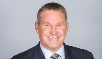 Washington Capitals television analyst Craig Laughlin, a former player, sits for a portrait. (Handout photo courtesy Comcast SportsNet Mid-Atlantic)