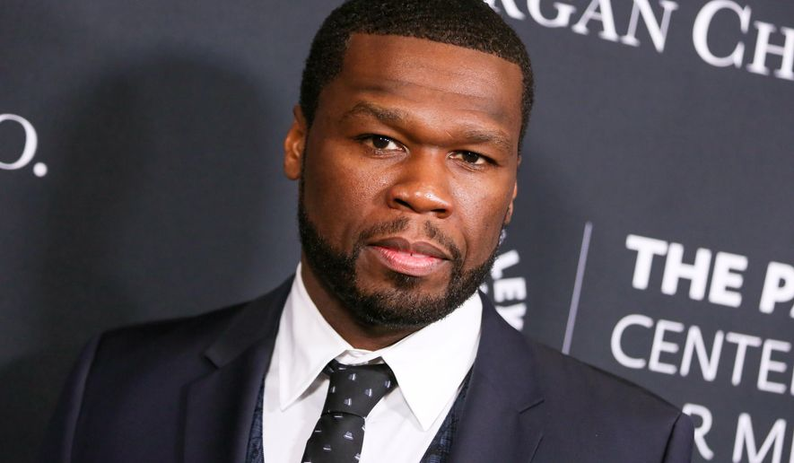 "FILE - In this Oct. 26, 2015 file photo, Curtis ""50 Cent"" Jackson arrives at Media's Tribute to African-American Achievements in Television in Beverly Hills, Calif. A&E said Thursday, March 17, 2016, it is developing a sketch comedy and music series named ""50 Cent Presents."" The star said he grew up watching variety shows on television and is anxious to bring his own spin to the project.  (Photo by Rich Fury/Invision/AP, File)"
