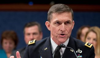 Retired Lt. Gen. Michael T. Flynn. (Associated Press) ** FILE **