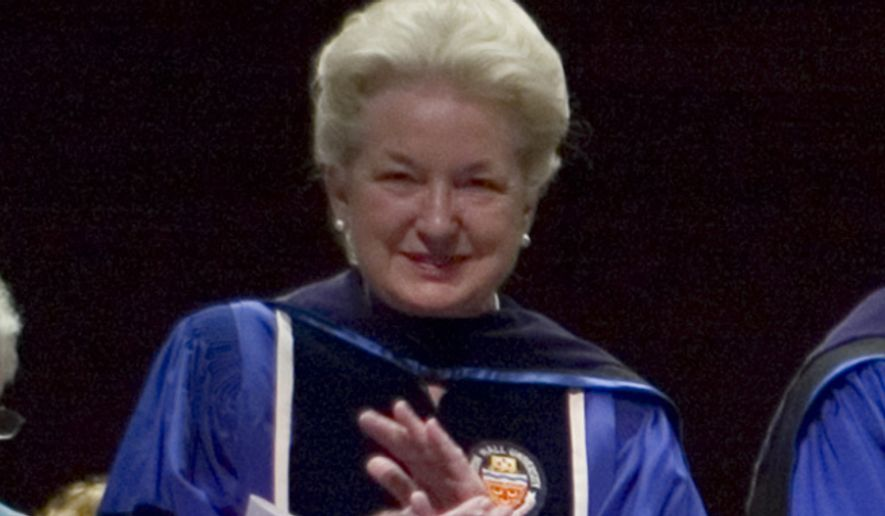 Judge Maryanne Trump Barry, who's a judge for the 3rd U.S. Circuit Court of Appeals in Philadelphia, got a note similar to the one received Friday by her nephew Eric, son of the real-estate mogul and Republican presidential frontrunner. (Associated Press)