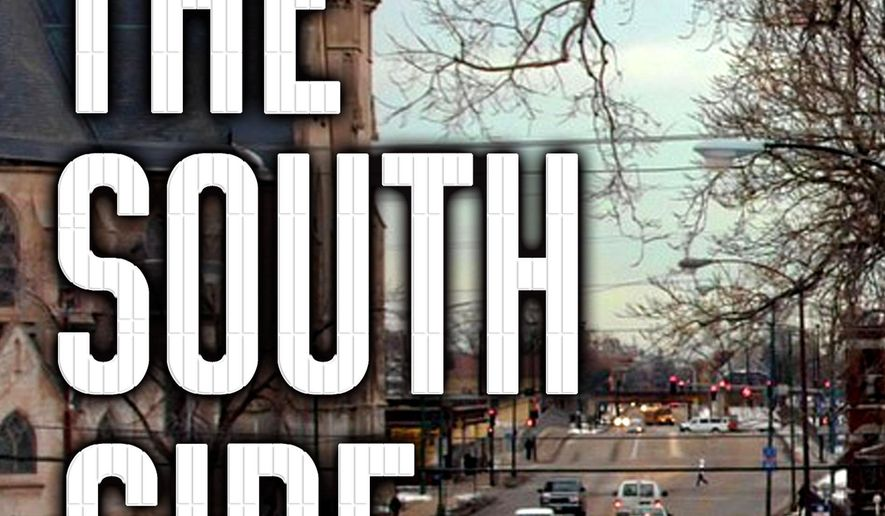 """This book cover image released by St. Martin's Press shows, """"The South Side: A Portrait of Chicago and American Segregation,"""" by Natalie Y. Moore. (St. Martin's Press via AP)"""