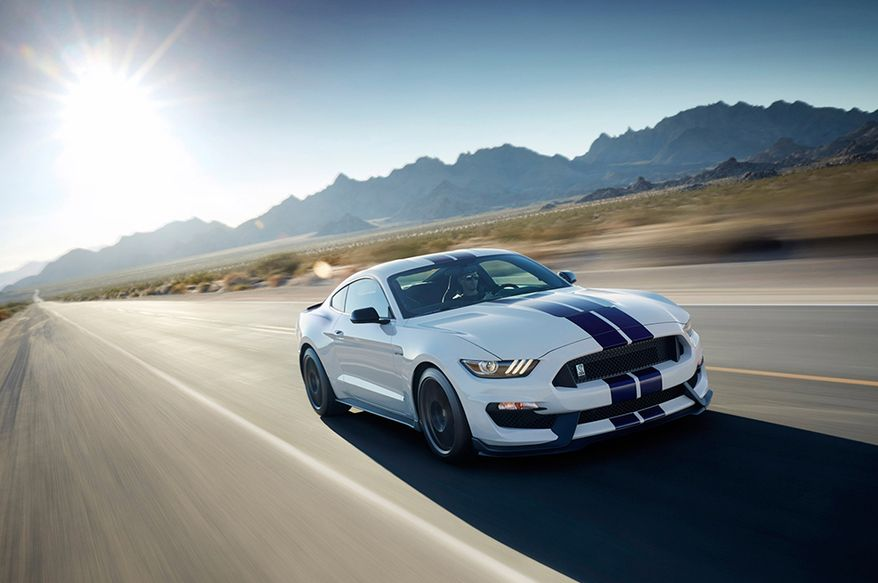 Shelby GT500-based on the Ford Mustang, powered by a 662-horsepower, 5.8-liter supercharged engine and 631 lb-ft of torque with a 0-60 time of 3.7 seconds