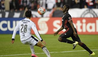 Playing at Virginia Tech and having friends in the area have allowed new D.C. United winger Patrick Nyarko to adjust quickly to his new team after a January trade. (ASSOCIATED PRESS)