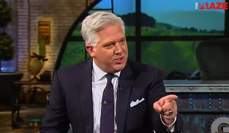 """Conservative talk radio host Glenn Beck said Thursday that it's clear evangelicals are not living in their faith, because """"no real Christian"""" could possibly support Republican presidential front-runner Donald Trump. (The Blaze)"""