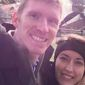 Justin Shults, 30, and his wife Stephanie, 29, were both at the Brussels airport when suicide bombers set off explosives. Justin was confirmed killed in the attack. (Image: NBC).