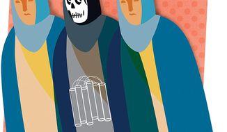 Migration of Jihad Illustration by Linas Garsys/The Washington Times