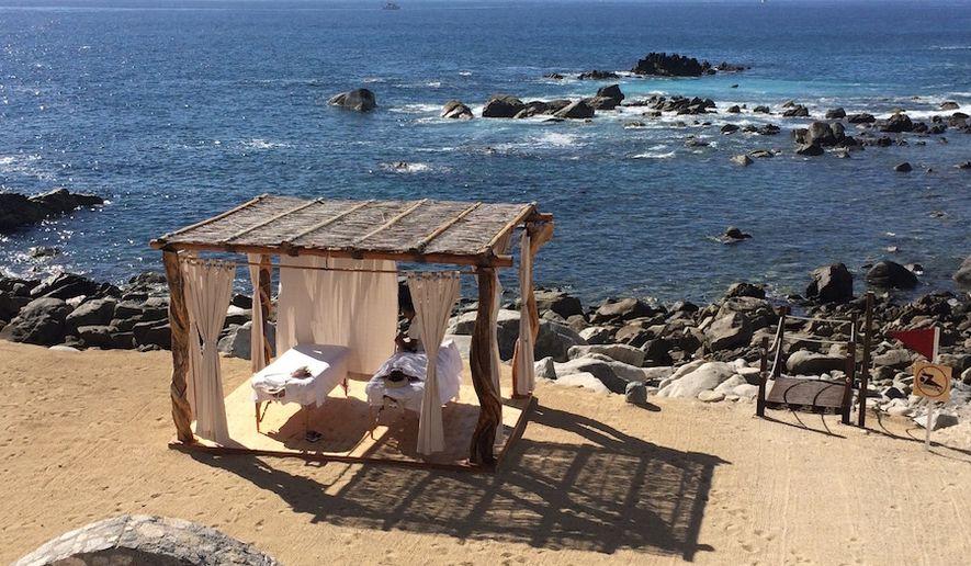 Enjoy the sun, waves and a massage at the at Hacienda Encantada.in Los Cabos, Mexico.