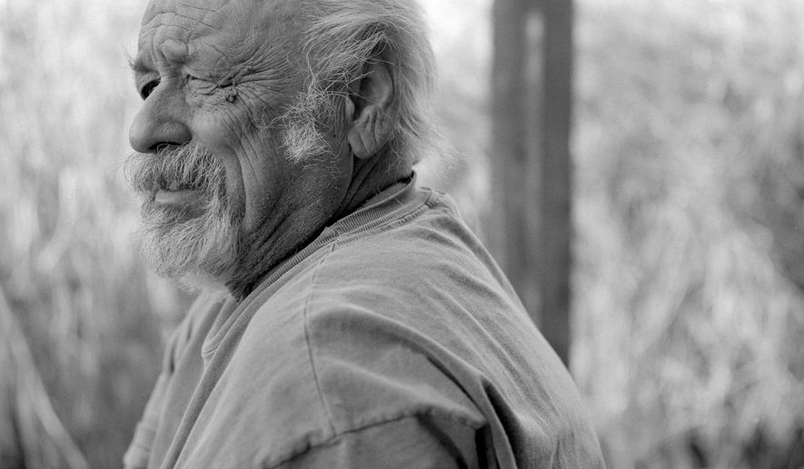 "This 2008 photo provided by Grove Atlantic shows author Jim Harrison. Harrison, the fiction writer, poet, outdoorsman and reveler who wrote with gruff affection for the country's landscape and rural life and enjoyed mainstream success in middle age with his historical saga ""Legends of the Fall,"" died Saturday, March 26, 2016. He was 78. (Wyatt McSpadden/Courtesy of Grove Atlantic via AP) MANDATORY CREDIT"