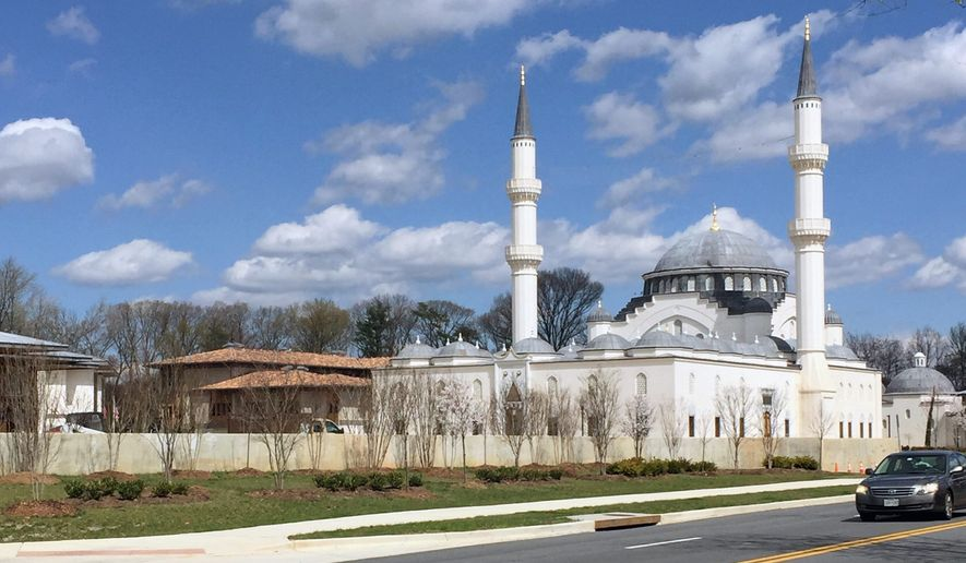 The Turkish-American Culture and Civilization Center in Lanham, Maryland. (The Washington Times)