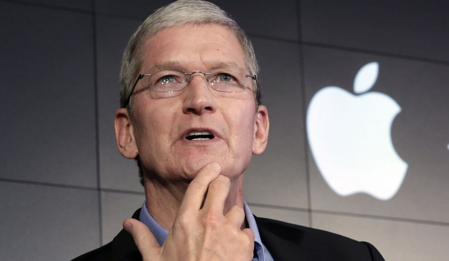 Apple CEO Tim Cook (Associated Press)