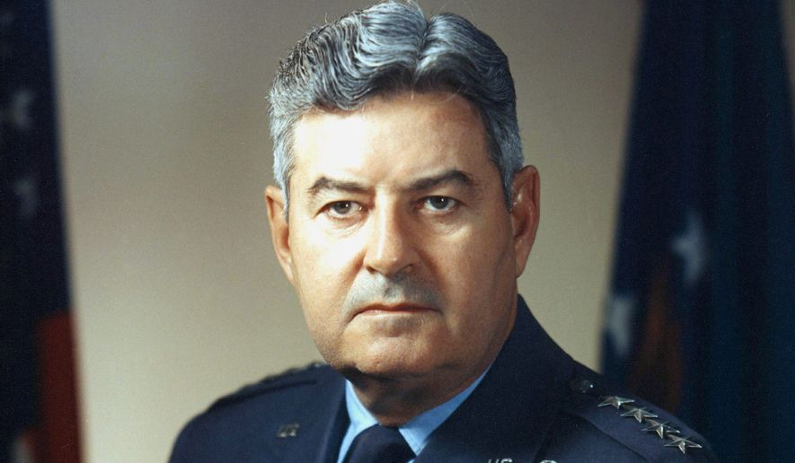 One journalist suggests that Americans confronting terrorism can take cues from General Curtis Emerson LeMay, fifth chief of staff of the U.S. Air Force. (U.S. Air Force)