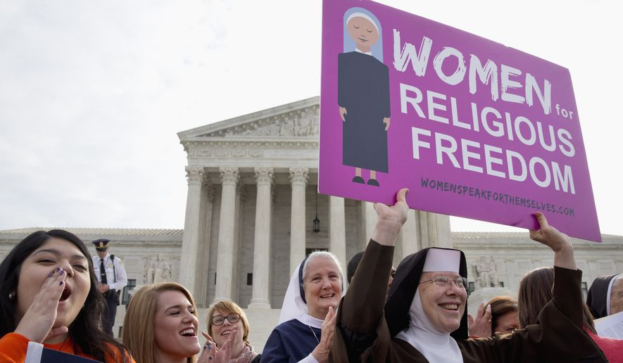 Nuns have fought legal requirements to provide birth control to their employees at Roman Catholic charities. (Associated Press/File)
