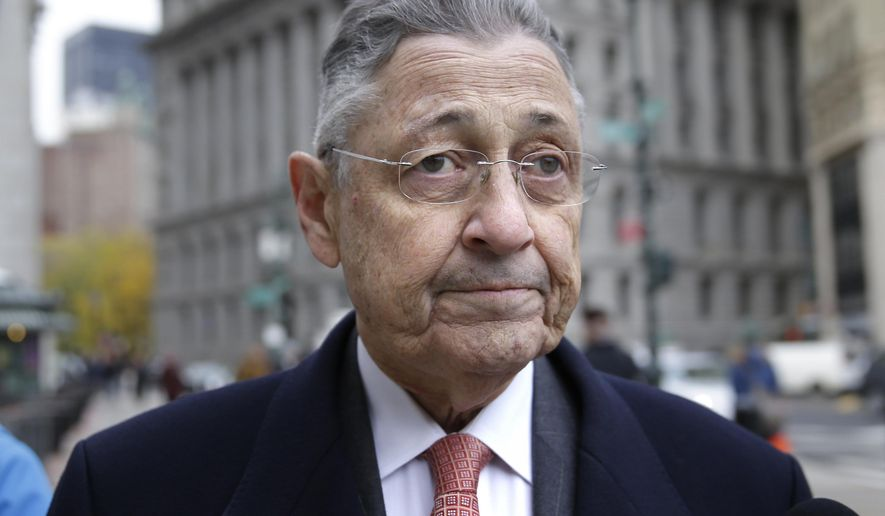 FILE - In this Tuesday, Nov. 24, 2015, file photo, former New York Assembly Speaker Sheldon Silver arrives at the courthouse in New York. Silver, who was convicted of fraud and extortion, was disbarred Tuesday, March 29, 2016, by the Appellate Division of the state Supreme Court in Manhattan. Silver was convicted in November in a $5 million corruption case. Prosecutors say he traded favors to enrich himself. He's scheduled to be sentenced in April. (AP Photo/Seth Wenig, File)
