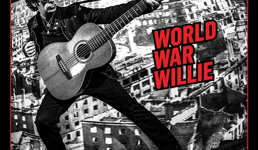 """This CD cover image released by Virtual Label shows """"World War Willie,"""" by Willie Nile. (Virtual Label via AP)"""