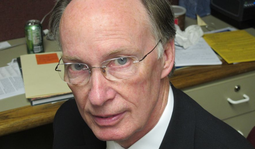 A Republican Alabama lawmaker says he plans to introduce a resolution to begin impeachment proceedings against Gov. Robert Bentley. (Associated Press)
