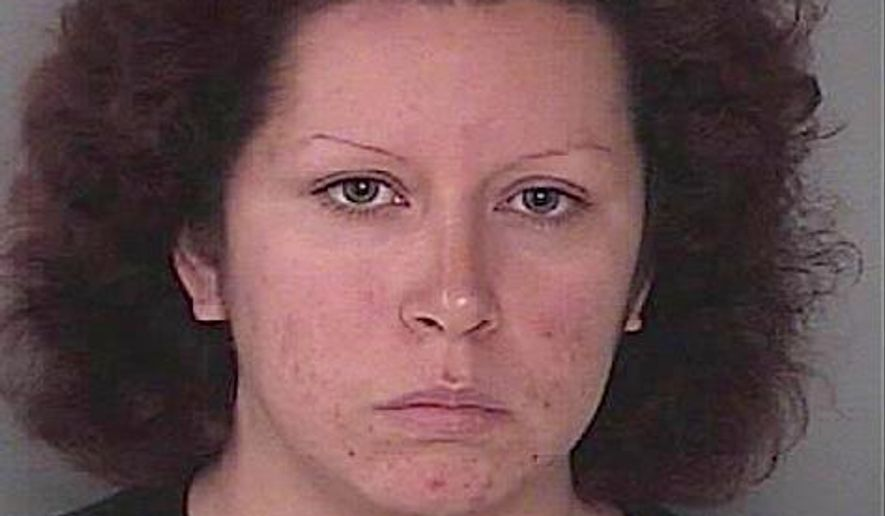 FILE - Oriana Garcia, mother of Jack Garcia, is seen in an undated file photo provided by the Hagerstown, Md., Department of Police. A Maryland man accused of fatally beating his girlfriend's 9-year-old son over a missing piece of birthday cake has been convicted of second-degree murder and sentenced to 30 years in prison. Robert Wilson took the plea deal Thursday, March 31, 2016, in Hagerstown, Md. He tearfully told the judge he regretted his actions but he laid some of the blame for Jack Garcia's death last July on the boy's mother and her brother. They face trial on second-degree murder charges in May. (Hagerstown Department of Police via AP)