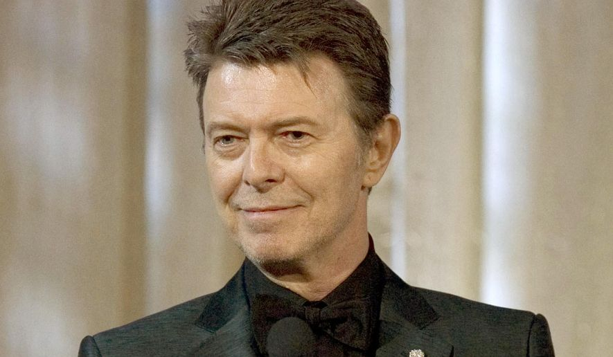 In this June 5, 2007, file photo, David Bowie attends an awards show in New York. Bowie died on Jan. 10, 2016, at age 69. (AP Photo/Stephen Chernin, File) **FILE**