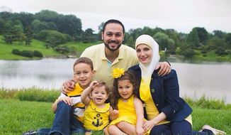 A Muslim family has claimed they were racially profiled against after they were kicked off a United Airlines flight from Chicago. (Facebook/@Eaman-Amy Saad Shebley)