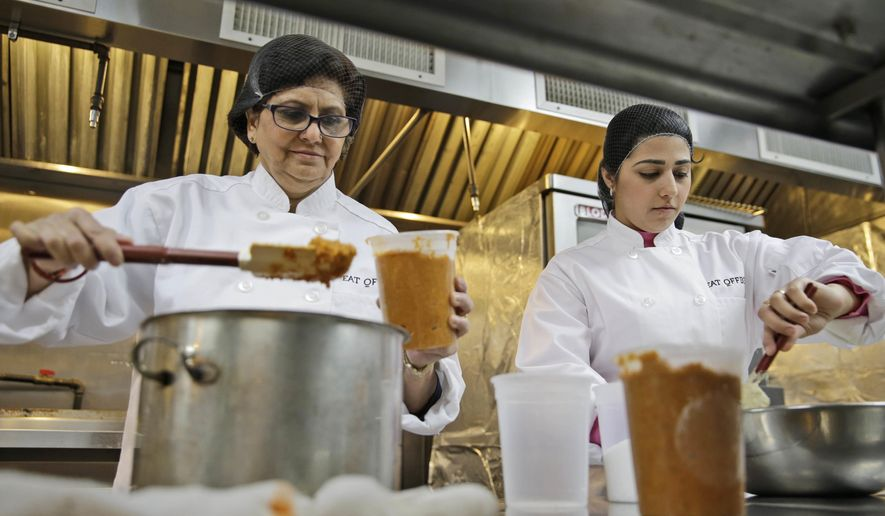 Refugee Chefs Bring Their Recipes To NYC Food Company
