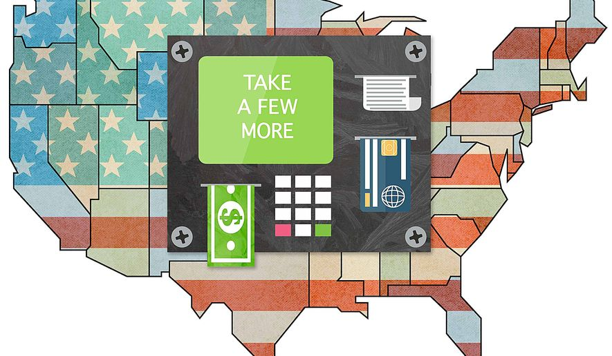 Free Stuff for All Illustration by Greg Groesch/The Washington Times
