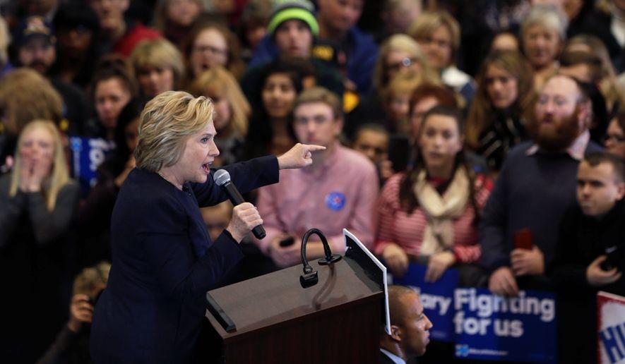Sen. Bernard Sanders is raising more donations than Hillary Clinton despite her lead. (Associated Press)