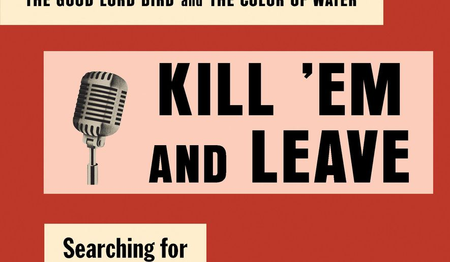 "This book cover image released by Spiegel & Grau shows ""Kill 'Em and Leave: Searching for James Brown and the American Soul,"" by James McBride. (Spiegel & Grau via AP)"