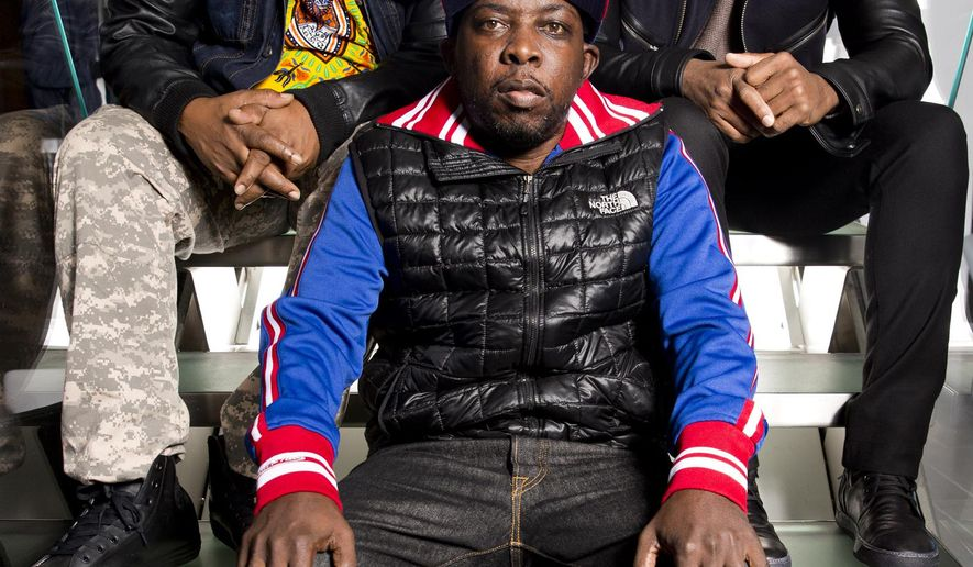 FILE - In this Nov. 12, 2015 file photo, Malik Isaac Taylor aka Phife Dawg of A Tribe Called Quest poses for a portrait at Sirius XM studios in New York. A new single by the late Phife Dawg is coming out this week, with portions of the proceeds going to charity. Phife Dawg, a masterful lyricist whose witty wordplay was a linchpin of the groundbreaking hip-hop group died March 22, 2016 from complications resulting from diabetes. He was 45. (Photo by Brian Ach/Invision/AP, FIle)