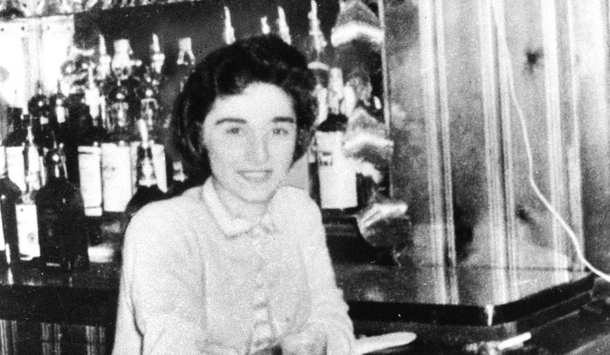 FILE- This undated file photo shows Kitty Genovese, whose screams could not save her the night she was stalked and killed in 1964 in the Queens neighborhood of New York. A man convicted of the stabbing death of  Genovese in a crime that came to symbolize urban decay and indifference has died in a New York prison at age 81. State prisons spokesman Thomas Mailey says Winston Moseley died on March 28, 2016, at the Clinton Correctional Facility in Dannemora. (The Daily News via AP, File) NYC LOCALS OUT; MANDATORY CREDIT