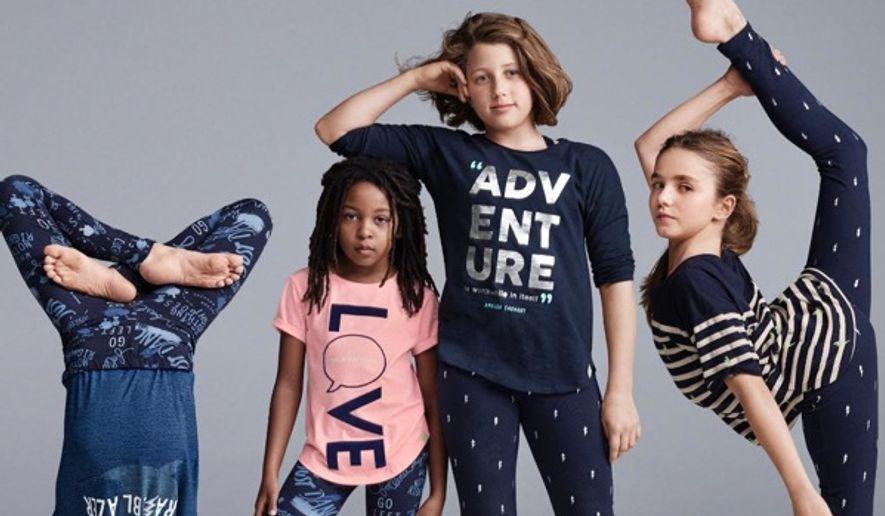 GapKids has apologized after an ad for Ellen DeGeneres' kids clothing line was deemed racist on social media. (Twitter/@GapKids)