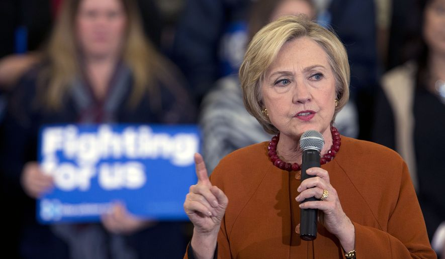 "Hillary Clinton's campaign has ""lost patience"" with Sen. Bernard Sanders. (Associated Press)"