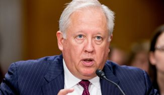 State Department Under Secretary for Political Affairs Thomas Shannon, Jr., testifies at a Senate Foreign Relations Committee hearing on Capitol Hill in Washington, Tuesday, April 5, 2016, on recent Iranian actions and implementation of the nuclear deal. (AP Photo/Andrew Harnik)